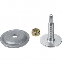 """286 Phantom series Studs & Support Plates by Woody´s (5/16 - 1.325"""" Pack of 90  (for 129"""" track) - REV Gen4, XS, XP, XR"""