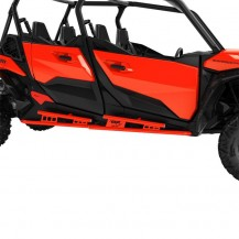 ROCK SLIDER KIT - CANAM RED