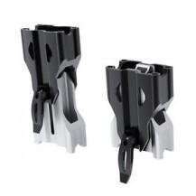 Adjustable Riser for Tapered Handlebar (REV-XS, XM, XP) (black/aluminum)