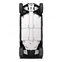 Central Skid Plate - Traxter MAX