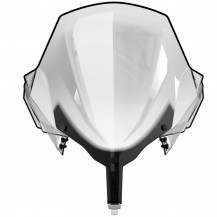 Extra High One-Piece Windshield (clear) - REV-XR, XU