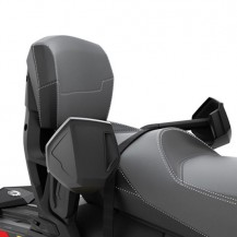 Heated 1+1 Grip with Guards - Fits on 1 + 1 LinQ Backrest (860200595) 2015 models and prior