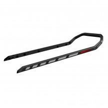 """Heavy-Duty Rear Bumper (black) - 165"""""""