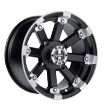 "Lockout 393 14˝ Rim by Vision (Front - 14"" x 7"" Bolt circle pattern: 4/136 mm Wheel offset: 4 + 3)"