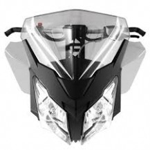 Medium Injected Windshield and Side Deflector Kit