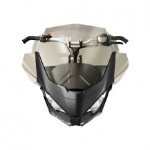 Medium Windshield Kit (smoke)