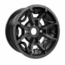 "Outlander X MR and Traxter Rim (Front - 14"" x 6.5"" offset = 10 mm) Black - Traxter, Traxter MAX (front wheels)"