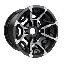 "Outlander X MR and Traxter Rim (Rear - 14"" x 8.5"" offset = 23 mm) Black and machined - Traxter, Traxter MAX (rear wheels)"
