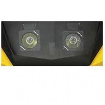 AUXILIARY WINDSHIELD LIGHTING FOR DELUXE FAIRING