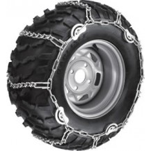 "Rear Tire Chains - 25"" x 10"" x 12""; 27"" x 9"" x 14"""