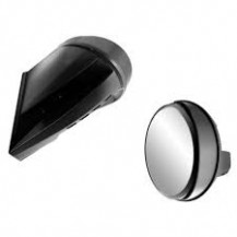 Windshield-Mount Mirrors - REV-XU, XR  (with extra high one-piece windshield)