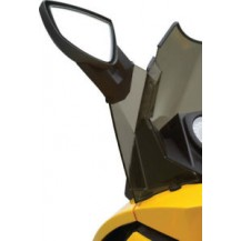 Windshield Side Deflector Kit (dark smoke)
