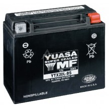 Yuasa† Batteries - 18 Amps. (Wet (YTX20L-BS))