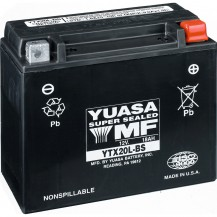 YUASA† Batteries - 18 Amps. (Wet (YTX20HL-PW))