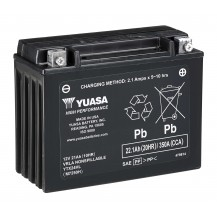 YUASA† Batteries -  21 Amps. (Wet (YTX24HL-BS))